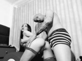 RossiAndCleider nude anal show